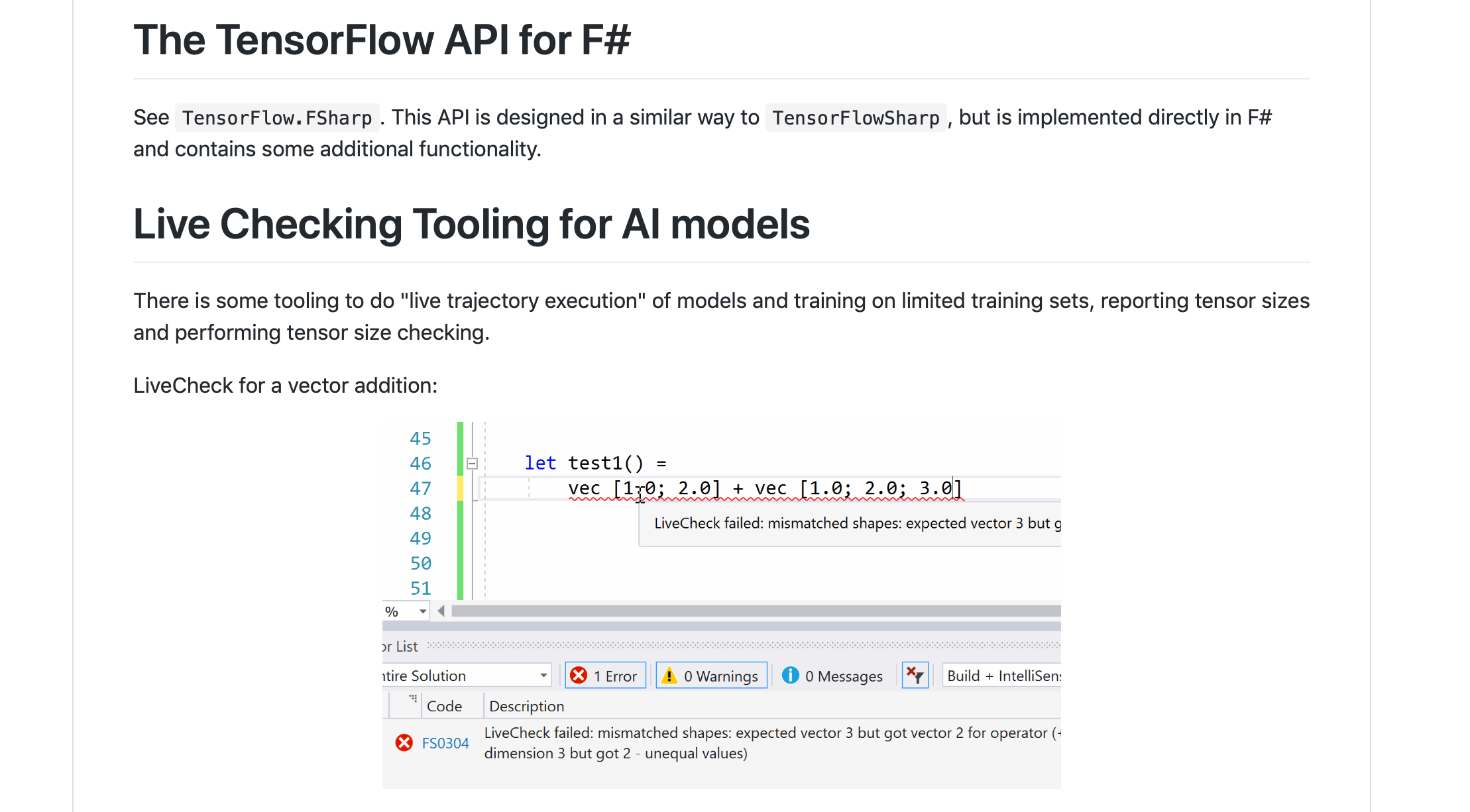 F# Weekly #7, 2019 – TensorFlow API for F# + Differentiable F# eDSL